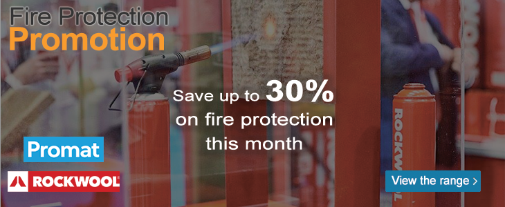 Get up to 30% off Fire protection this month only