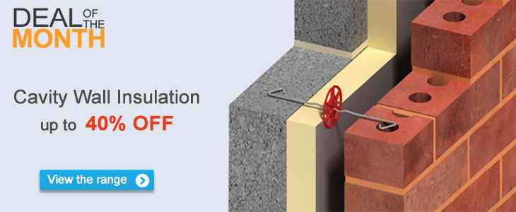 Deal of the month - Cavity Wall