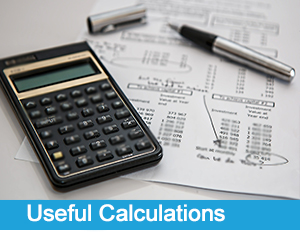 Useful Calculations