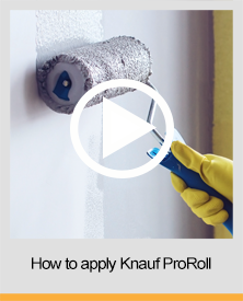 Knauf ProRoll How to guide